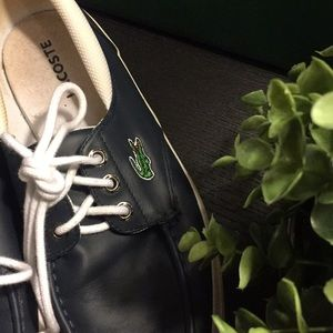 dc3f64ea1 Lacoste Shoes - Men s Lacoste Navy Boat Shoes Size 8